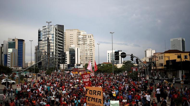 Brasiliens korrupte Übergangsregierung: Vom Volk verschmäht, von den Märkten missbilligt