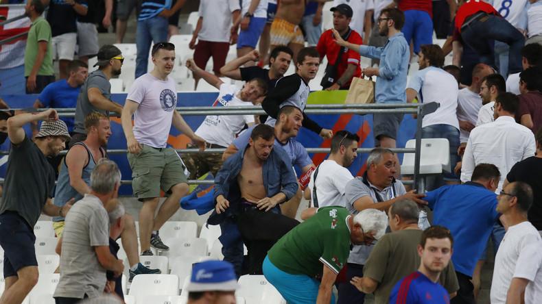 EM 2016: UEFA verhängt Geldstrafe und bedingte Disqualifizierung gegen russischen Fußballverband