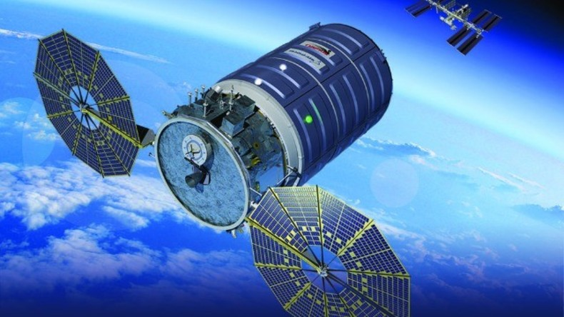 Live aus dem All: Cygnus-Weltraumfahrzeug verlässt Internationale Raumstation ISS