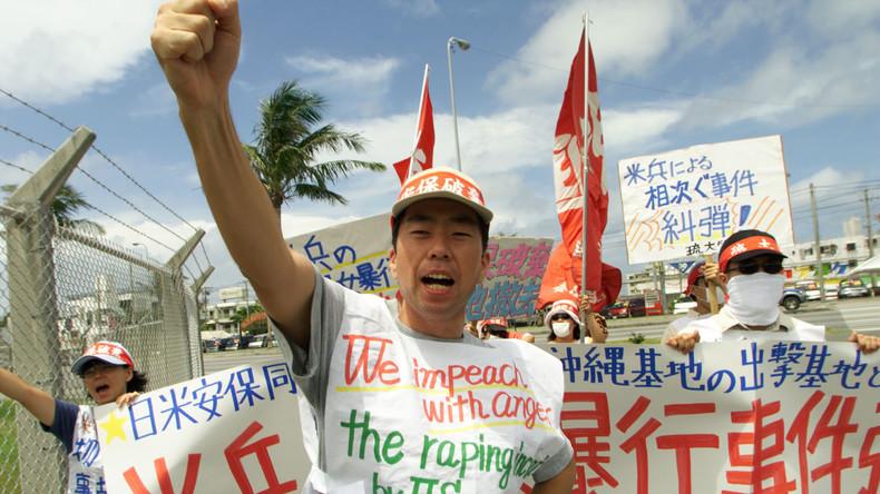 """Japan im Zorn: US-Soldaten """"üben"""" Massen-Vergewaltigung auf Militärstützpunkt in Okinawa"""