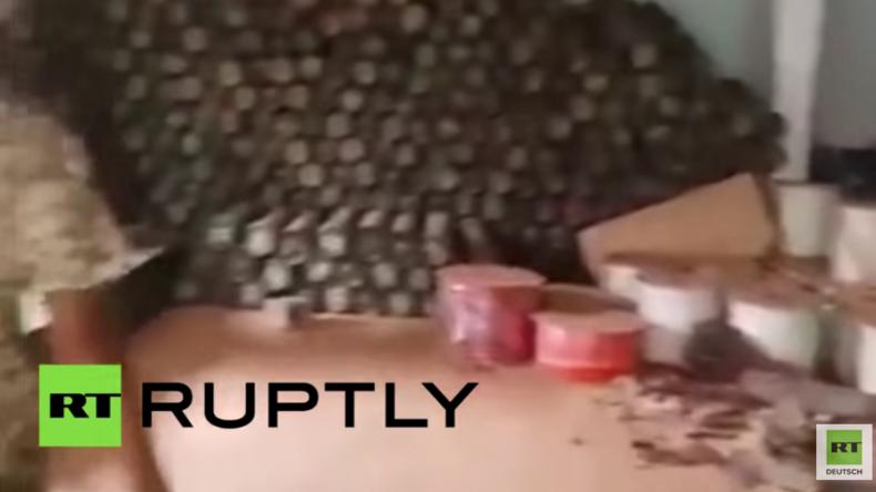 Kampf um libysche IS-Hochburg Sirte - Milizen erobern Munitionslager der Terror-Organisation