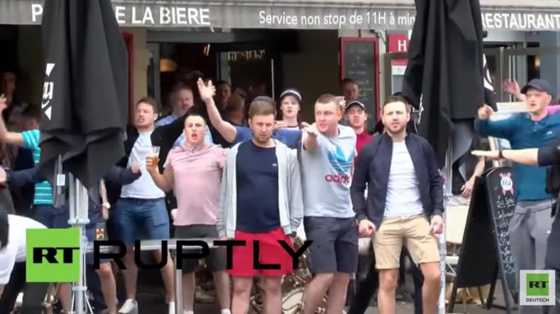 EM 2016 in Frankreich: Erneute Schlägereien zwischen Fußballfans in Lille
