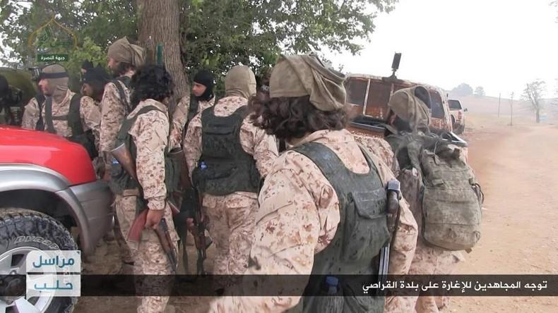 Syrien: Dschihadisten setzen, unterstützt von Türkei und Saudi-Arabien, Offensive fort