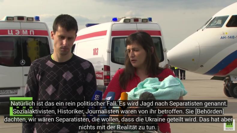 Gefangenenaustausch: Russland rettet zwei Ukrainer und einen Säugling aus ukrainischer Haft