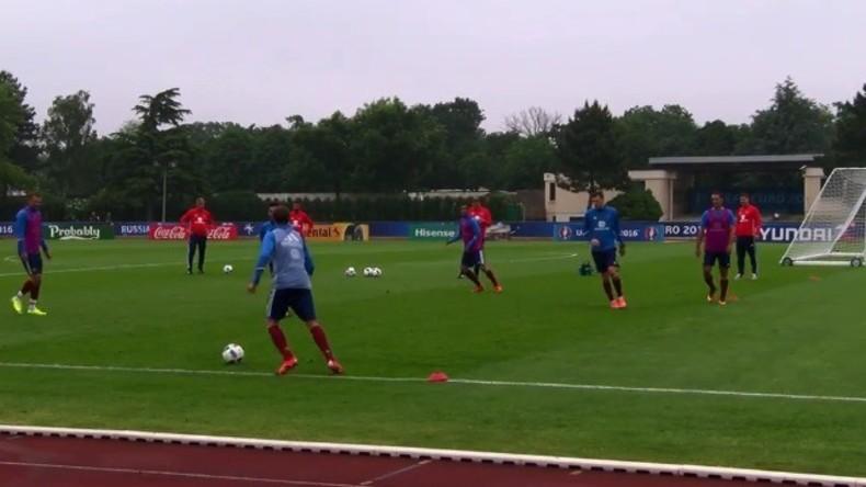 Live: Spannungen zwischen Fußball-Fans nach dem EM-Spiel in der Innenstadt von Lille