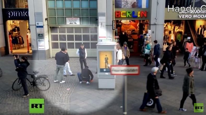 Parallelwelten: Hütchenspieler in Berlin