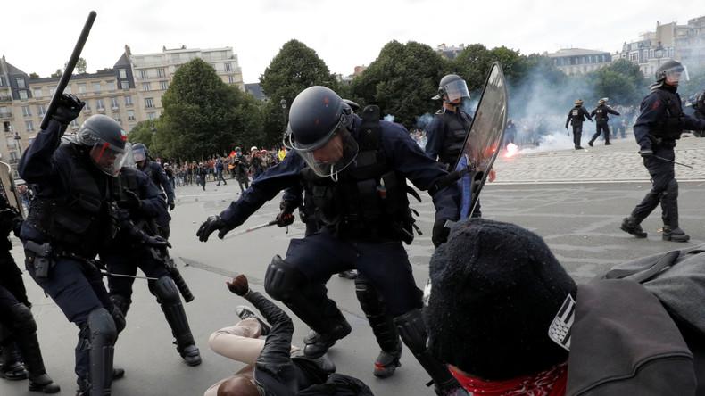 Gewalteskalation in Frankreich: Hooligans, Terrorangriff und Gewerkschaftsstreik