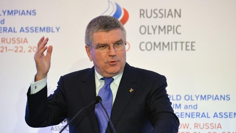 """""""Recht auf Olympia-Teilnahme"""" - Russische Sportler wenden sich mit Offenem Brief an IOK-Chef"""