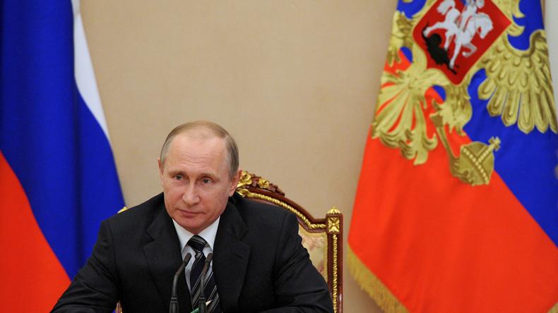 """Putin zur wirtschaftlichen Lage in Russland: """"Wir haben die Periode der Rezession fast überwunden"""""""