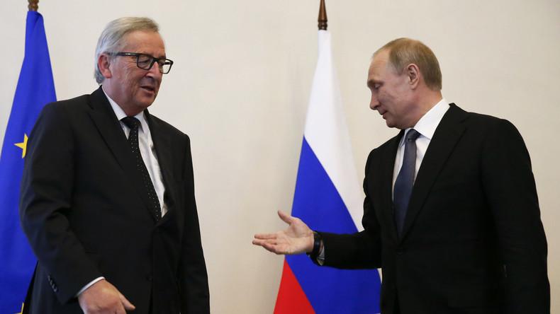 Wirtschaftsforum in Sankt Petersburg: EU-Parlamentarier wettern gegen Junckers Teilnahme
