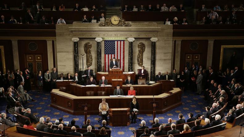 US-Kongress debattiert mal wieder über Russland, Putin und RTs angebliche Destabilisierungsversuche
