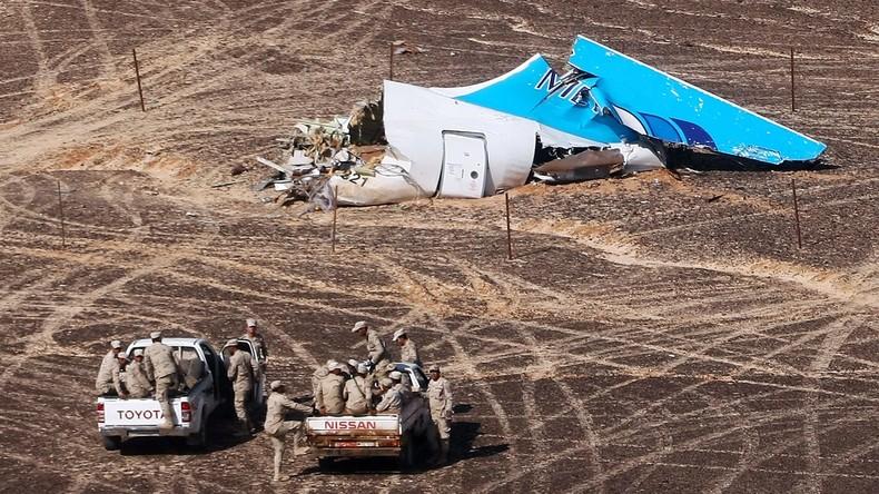 CIA: Terrorgruppe Ansar Bait al-Maqdis verantwortlich für Absturz des russisches Flugzeugs im Sinai