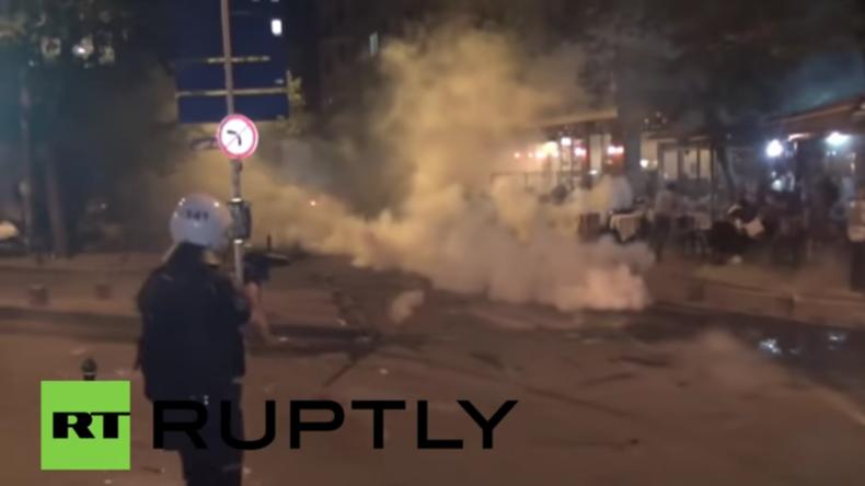 Türkei: Polizei setzt Tränengas und Wasserwerfer bei Solidaritätsveranstaltung für Radioheadfans ein