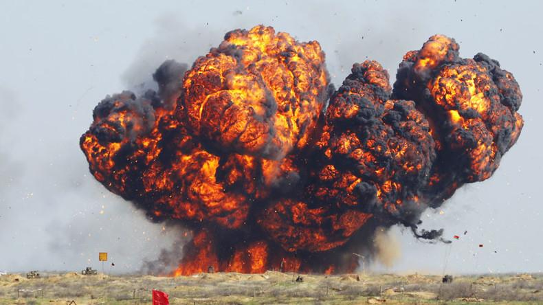 Raketentriebwerk fängt Feuer auf militärischem Testgelände in Südrussland - Hunderte evakuiert