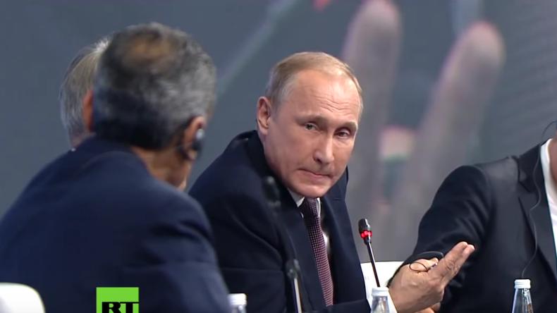 """Putin: """"Sport- und Kulturbereiche dürfen nicht politisiert werden"""""""