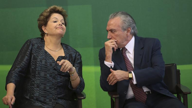 Brasilien: Mit Temer übernimmt die Oligarchie wieder selbst das Ruder