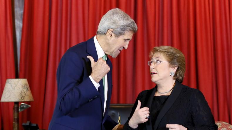 Putsch 2.0 in Chile? Medienmonopole attackieren Präsidentin Bachelet nach brasilianischem Vorbild