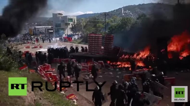 Mexiko: Scharfe Schüsse bei Protesten gegen Bildungsreform – Mindestens sechs Tote
