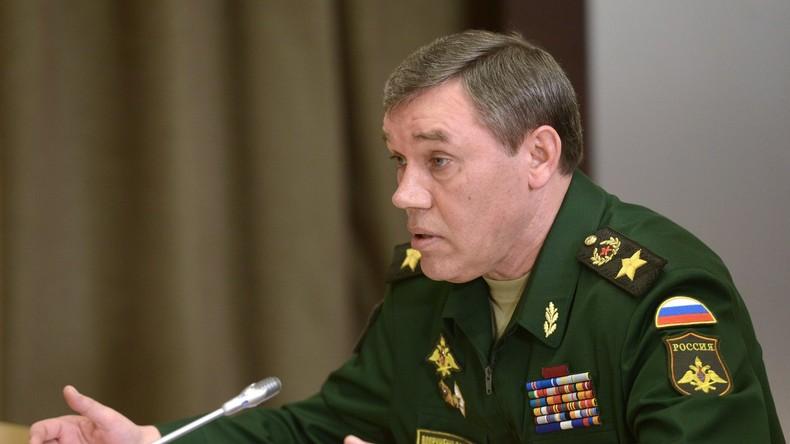 """Russlands Generalstab zur Situation in Syrien: """"Der Geduldsfaden reißt uns, nicht den USA"""""""