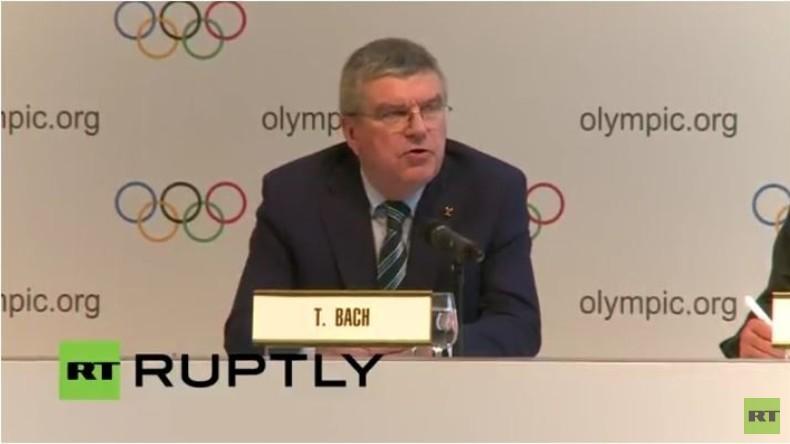 Live: Das Internationale Olympische Komitee gibt Pressekonferenz zu Olympischen Spielen in Rio