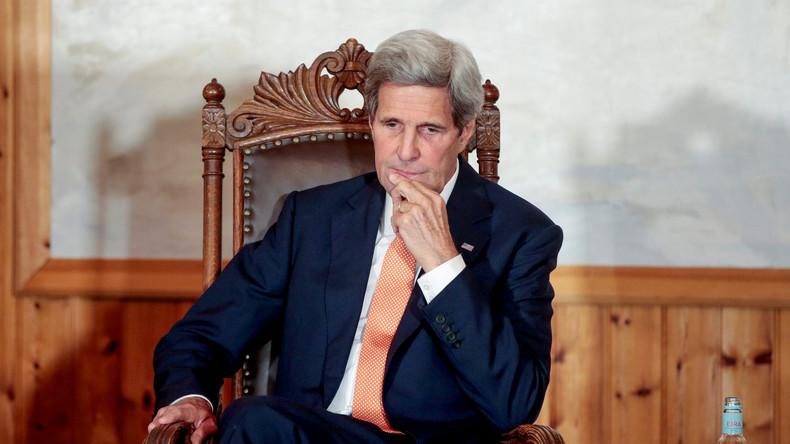 """Kerry zum Aufruf von US-Diplomaten, die Angriff auf Assad-Truppen fordern: """"Sehr gut!"""""""
