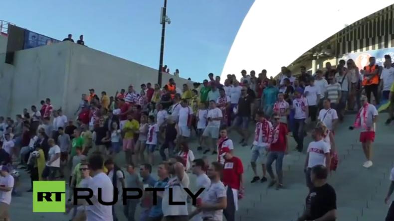 Live aus Marseille nach EM-Spiel: Polen gegen Ukraine
