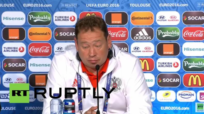 Russland-Trainer Slutski: Schlechte Leistung bei EM meine Schuld - Denke ein neuer Trainer ist nötig