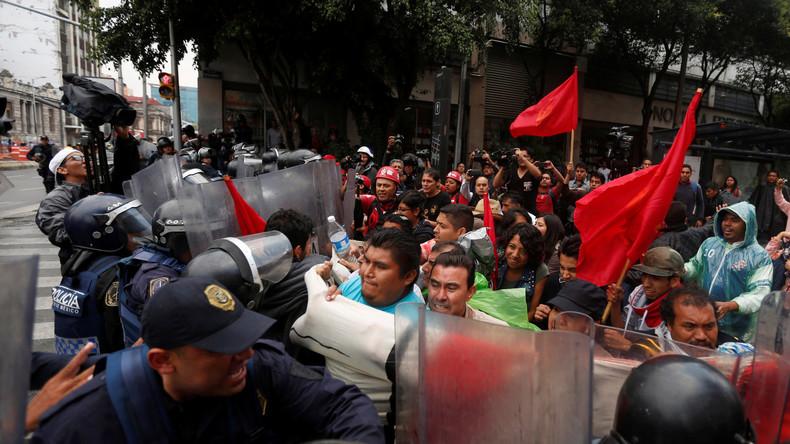 Mexiko: Nach blutiger Niederschlagung von Lehrerprotesten - UN fordert Untersuchung