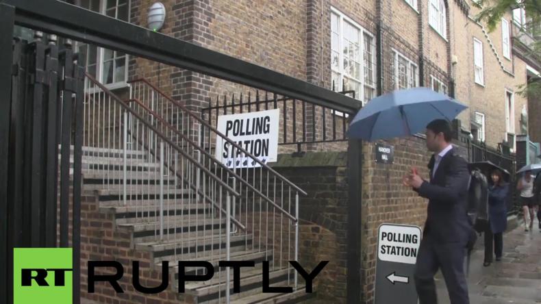 Live aus England: Wahllokale für Brexit-Referendum geöffnet - Auch Cameron gibt seine Stimme ab