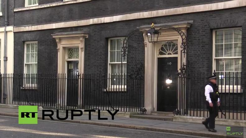 Live aus London: Cameron gibt Erklärung nach Ja zum Brexit