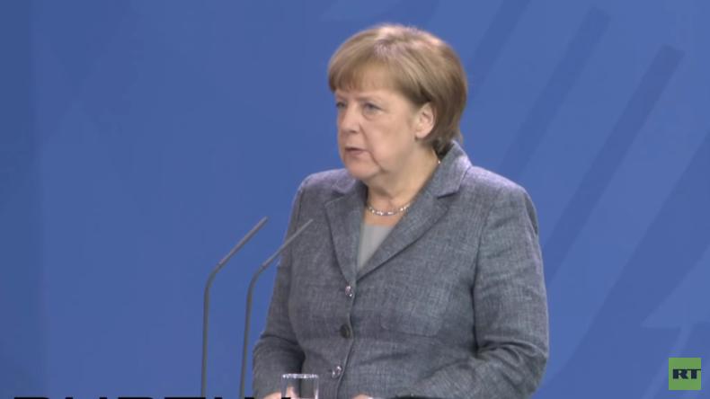 Live: Erste offizielle Stellungnahme von Kanzlerin Angela Merkel zum Brexit
