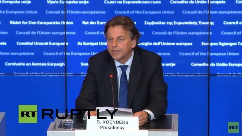 Live: EU-Rat für allgemeine Angelegenheiten zu Brexit - Pressekonferenz