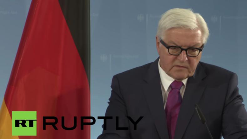Live: Brexit-Krisengipfel? Steinmeier trifft EU-Außenminister in Berlin - Pressekonferenz
