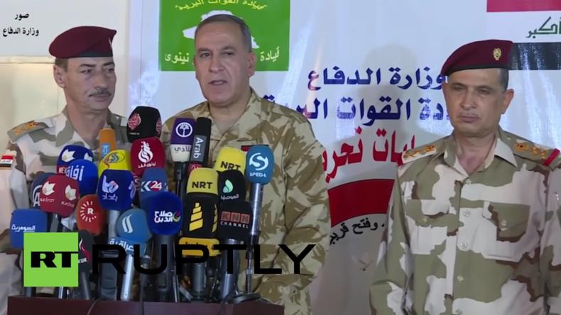 Irakischer Verteidigungsminister: Falludscha ist erfolgreich vom IS befreit