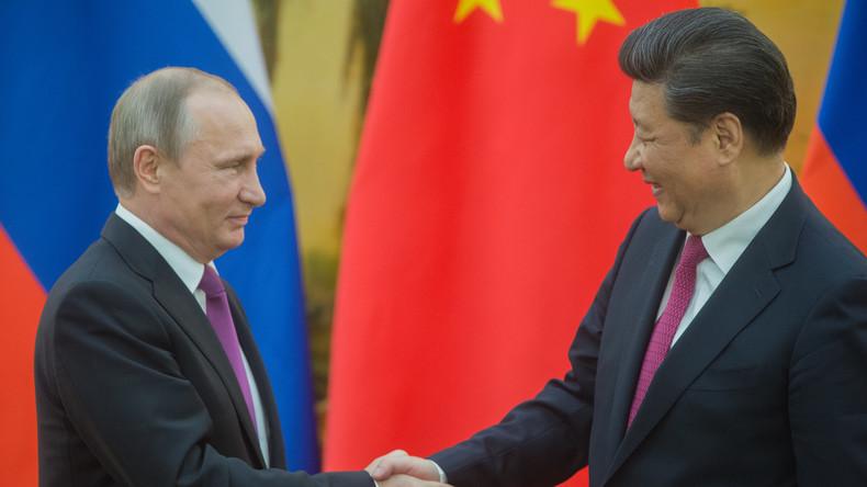 Putin in China: Wirtschaftsabkommen im Wert von 50 Milliarden US-Dollar