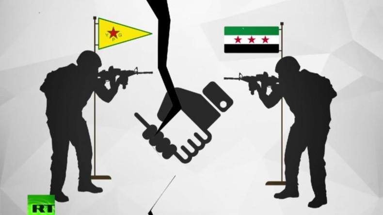 Verwirrung in Syrien: CIA-Rebellen kämpfen erneut gegen Pentagon-Milizen