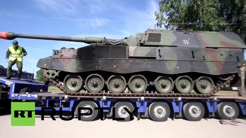 """""""Angst vor Russland"""" - Deutsche Waffen nach Litauen: Erste selbstfahrende Haubitzen ausgeliefert"""