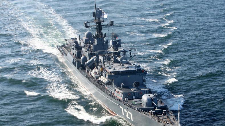 US-Zerstörer nähert sich auf gefährliche Weise russischer Fregatte im Mittelmeer