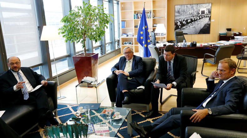 Live: Nach Notfall-Sitzung des Europäischen Rats zu Brexit - Erklärungen Juncker, Tusk und Schulz