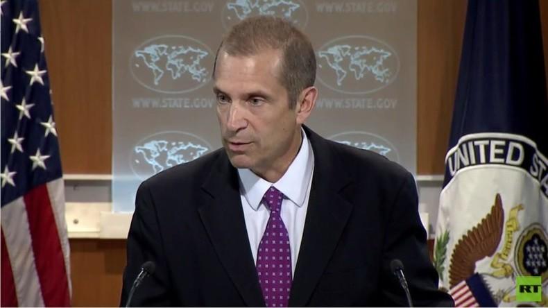 """US-Außenministerium weicht erneut Frage von RT nach Tätigkeit des """"Global Engagement Center"""" aus"""