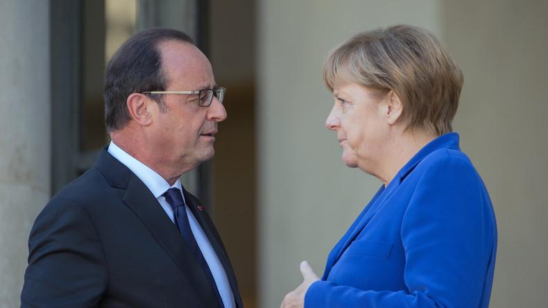 """""""Weiter notwendig"""" - Merkel und Hollande bewilligen Verlängerung der Russland-Sanktionen"""