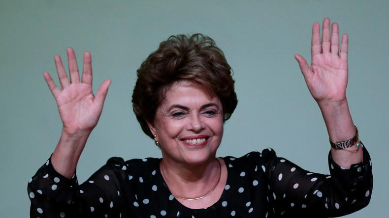 """Brasilien: """"Keine Beweise"""" - Untersuchungsbericht entlastet suspendierte Präsidentin Rousseff"""
