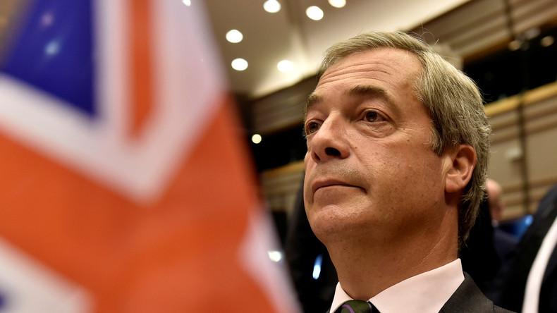 Politisches Erdbeben nach erfolgreichem Brexit-Votum: Nigel Farage zieht gegenüber RT Bilanz