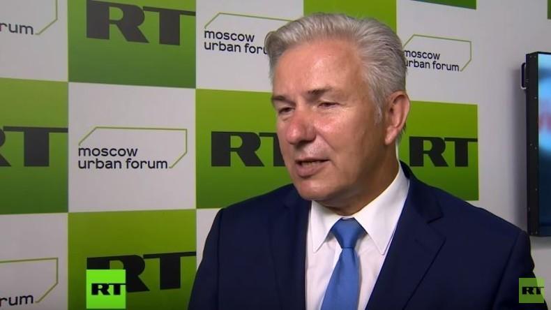 """Klaus Wowereit im RT-Interview: """"Moskau und Berlin haben ähnliche Probleme"""""""