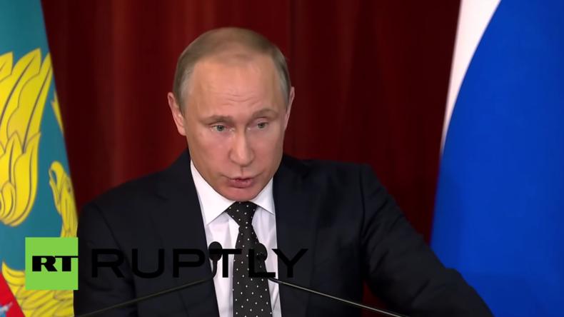"""Russland: """"Traumatische Wirkung"""" des Brexits wird noch eine lange Zeit zu spüren sein - Putin"""