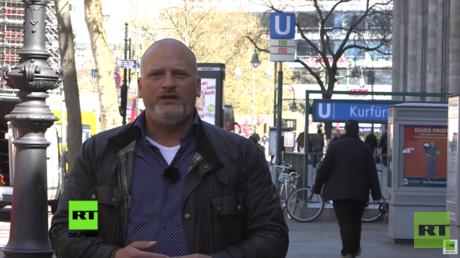 Daniel Lange - mit Parallelwelten im Einsatz für RT Deutsch