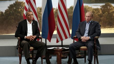 Distanziert: Barack Obama und Wladimir Putin beim G8-Gipfel 2013