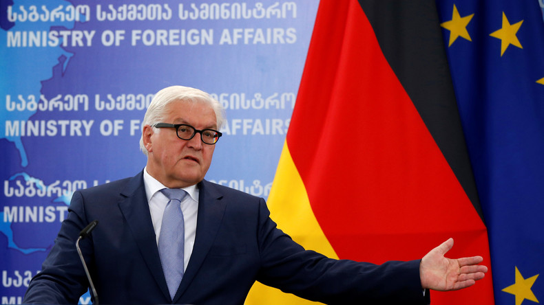 Steinmeier erklärt Deutschland zur Weltmacht