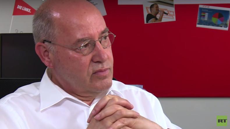 """Gregor Gysi im RT Deutsch-Interview: """"Wir müssen wieder kämpfen"""""""