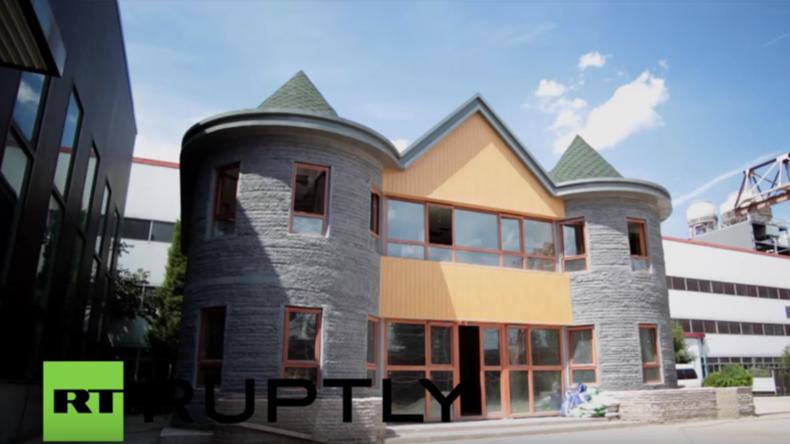 """China: """"Dieses 3D-gedruckte Haus hält Erdbeben stand - Wir können sogar Wolkenkratzer drucken"""""""